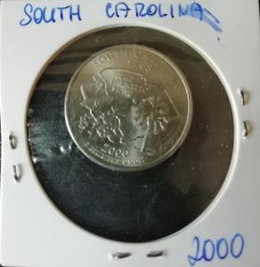 25 cent 2000P, South Carolina , quarters Dollar 2000P - South Carolina