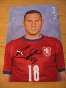 Jan Bořil - ČR - orig. autogram