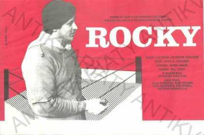 Rocky film plakát A4 Sylvestr Stallone Avildsen