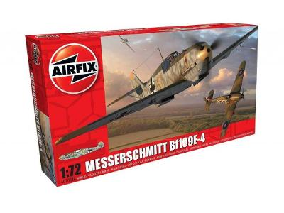 Airfix - Messerschmitt Bf-109E-4, A0100,1/72