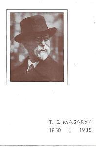 Pamětní list T.G. Masaryk 1935