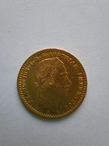 Zlatý dukát, 1861A, František Josef I.