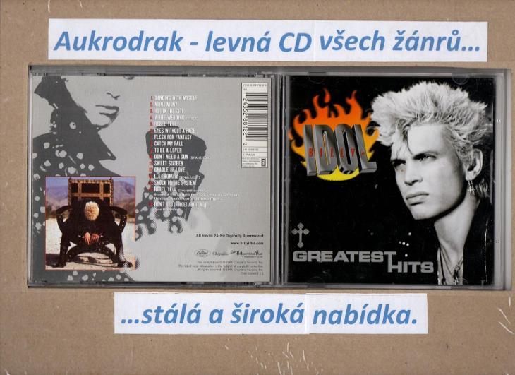 CD/Billy Idol-Greatest Hits - Hudba