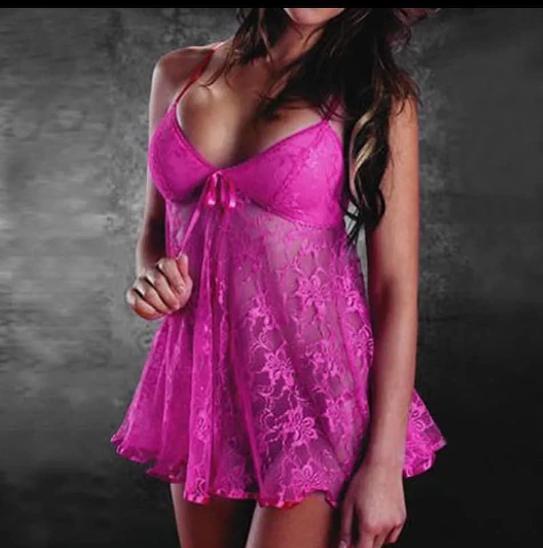 Sexy něžné růžové prádlo - Erotické prádlo, obuv