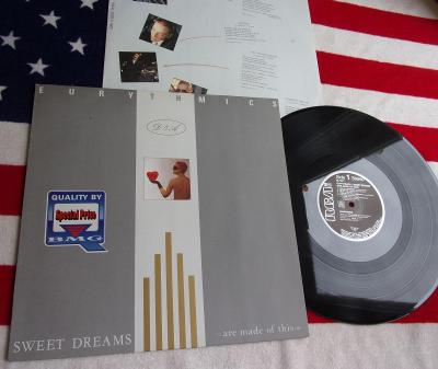 ✨ LP: EURYTHMICS - SWEET DREAMS, jako nová, West Germany 1983