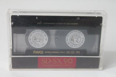 MC - Nahraná kazeta Raks SD - SX 90  (o5)