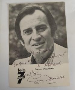 Autogram George Descrieres
