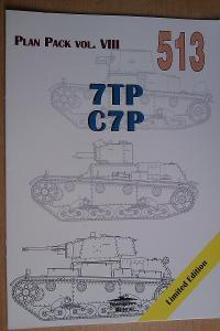 MONOGRAFIE  MILITARIA 513 - 7TP,C7P