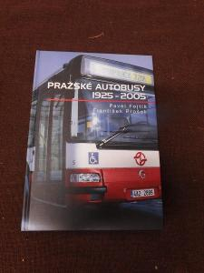 Zajímavá kniha - PRAŽSKÉ AUTOBUSY 1925-2005