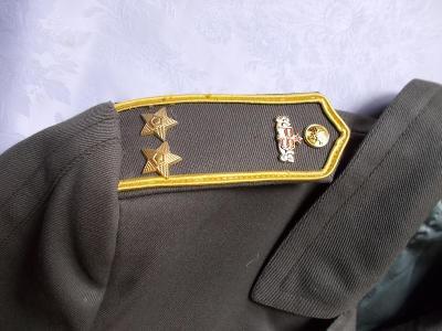 Kabát Pohraniční stráž, podplukovník