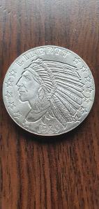 Stříbrná mince 1 0Z
