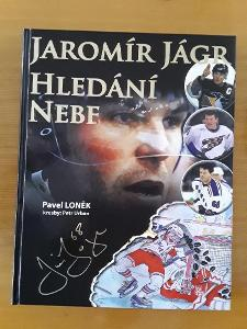 kniha Jaromír Jágr Hledání nebe