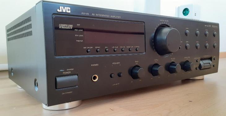 JVC AV integrovaný zesilovač AX-V8 BK - TV, audio, video