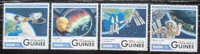 Guinea 2016 Mezinárodní vesmírná stanice Mi# 12106-09 Kat 24€ 2557