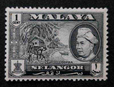 Malajsie - Malaya SELANGOR 1c