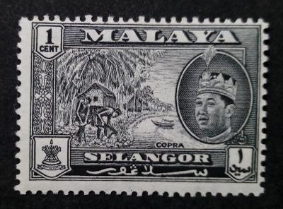 Malajsie - Malaya SELANGOR 1961 1c