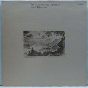 LP More images  Pro Arte Antiqua Lipsiensis – Spielt Telemann, 1981 EX