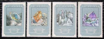Guinea 2014 Minerály Mi# 10782-85 Kat 20€ 2557