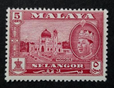 Malajsie - Malaya SELANGOR 5c