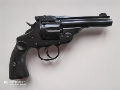 Starožitný revolver cal. 380