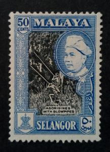Malajsie - Malaya SELANGOR 50c