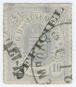 Luxembourg 1875, Mi3I Used 3000€, TESTED/ Zkoušená