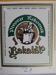 Pivovar Rakovník kat. č. :  Z 4    sbírka STČ