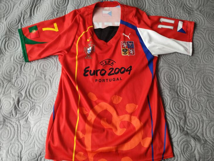 Dres Portugalsko - Česko Euro 2004 - Sportovní sbírky