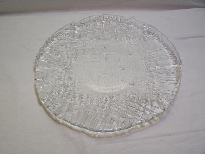 Mísa na ovoce- čirá - dekorační sklo - Retro !!!