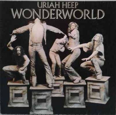LP Uriah Heep - Wonderworld, 1974 EX