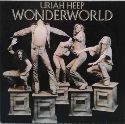 LP Uriah Heep - Wonderworld, 1974 EX - Hudba