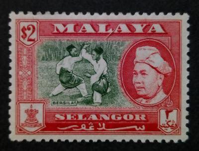 Malajsie - Malaya SELANGOR 2$