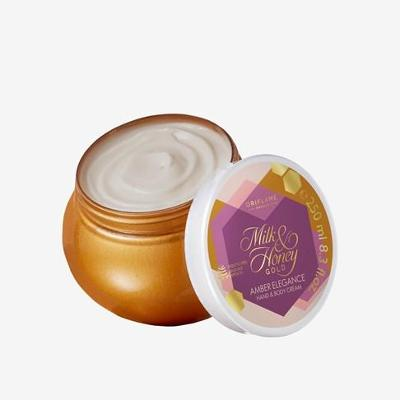 Krém na ruce a tělo Milk & Honey Gold Amber Elegance-ORIFLAME