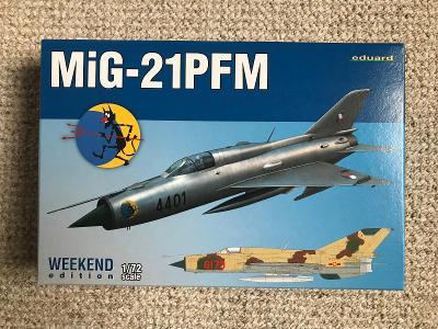 Eduard Weekend MiG-21 PFM + masky