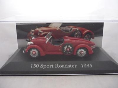 Mercedes Benz 150 Sport Roadster 1935 DeAgostini 1/43