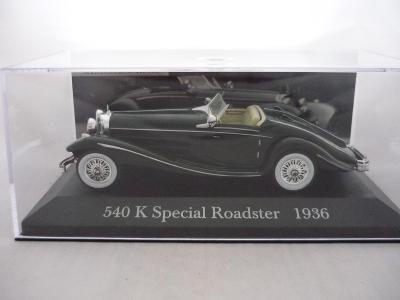Mercedes Benz 540 K Roadster 1936 DeAgostini 1/43