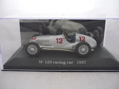 Mercedes Benz W125 Racing Car 1937 DeAgostini 1/43