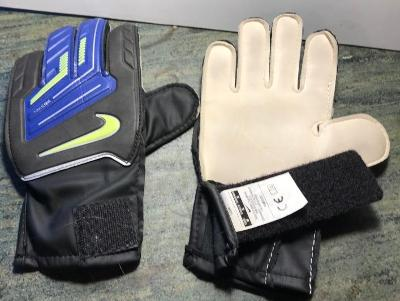 Dětské brankářské značkové rukavice  jako nové