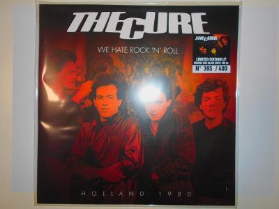 THE CURE - WE HATE ROCK´N´ROLL - HOLLAND 1980 - 1LP - ORANGE - U.S.A.