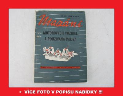 MAZÁNÍ MOTOROVÝCH VOZIDEL - Jawa ČZ Škoda Aero Tatra Praga Zetor