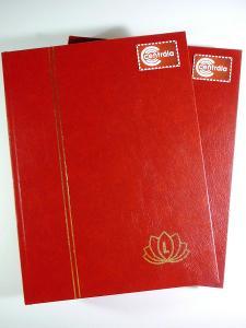 3807 Sbírka známek EVROPA +2 luxusní obr zásobníky