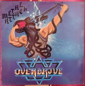 Overdrive – Metal Attack (LP 1983 Sweden)