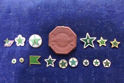 Odznaky ESPERANTO /kongres r. 1930/