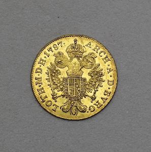 Zlatý Dukát 1787 A - Josef II. - Hledaný!