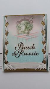 etiketa likér Ruský punč
