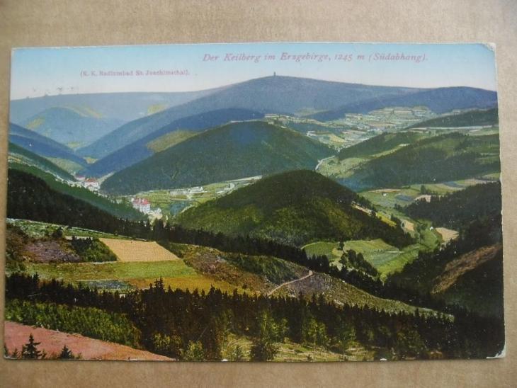 Klínovec Krušné hory Karlovy Vary - Pohlednice