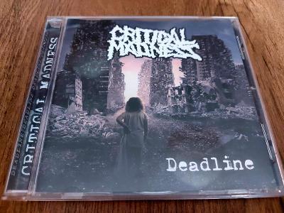 CD  CRITICAL MADNESS Deadline