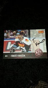 Foto s podpisem Tomáš Voráček (HC Sparta Praha) - hokej