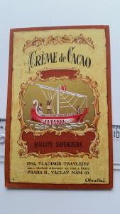 etiketa likér Kakao