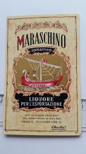 etiketa likér Maraschino